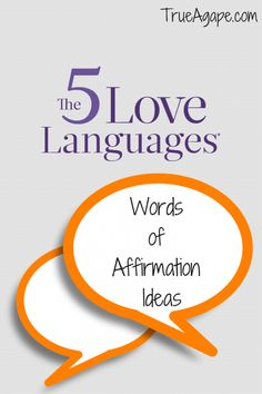 5 Love Languages- Words of Affirmations Ideas | True Agape Newlywed Blog