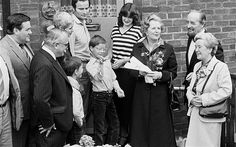 What happened to Margaret Thatcher's first Right to Buy council house? One of the first council houses sold under Margaret Thatcher's Right To Buy scheme was purchased for more than 20 times its original value 33 years later:   Mrs Thatcher handing over the keys of 39 Amersham Road to its new owners