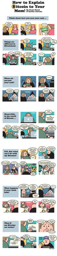 How to Explain Bitcoin to Your Mom! - NYTimes.com 2014.    #FinTech #goalsetting and #KPI Experts Contact us now at @jamsovaluesmart http://www.jamsovaluesmarter.com