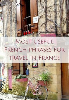 French travel phrases you must know for a trip to France (AUDIO) Oui In France Most useful French phrases for travel in France (AUDIO)IN IN, In or in may refer to: Paris France, France 3, Visit France, Bordeaux France, French Travel Phrases, Useful French Phrases, How To Speak French, Learn French, Tour Eiffel