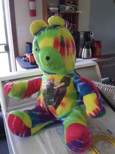 Front: Remembering Bear made from Tee-Shirt