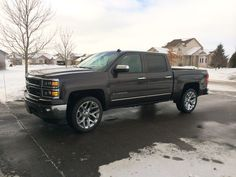 Chevy In The Driveway
