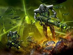 Necron codex art