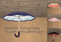 Sims 2, The Sims, Umbrella Decorations, Sims 4 Toddler, Bliss, Upcycle, Diy Projects, Ceiling Lamps, Lights