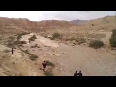 Incredible Video Shows River Returning to the Desert in Israel After Years of Drought.A truly remarkable and rare occurrence was captured on camera overseas as rainfall sent water gushing down a river for the first time in years. The river Zin, which drains into the Dead Sea, is about 75 miles long and runs through the Negev Desert, in southern Israel. While it's referred to as a river, usually only the dry bed of the Zin can be seen. Also called the Nahal Zin,Click to read more & see video