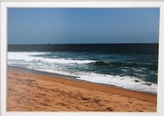 5 x 7 mated photo Sunset Beach California ocean by RoadAheadPhotos, $16.25