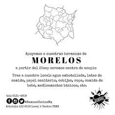 #CDMX #Centro para #Morelos  @RAMONAcocinamx recibe víveres para #MORELOS. Gracias de antemano por tu apoyo! #FuerzaMéxico #sismos