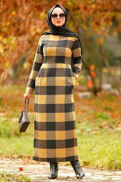 #ekoseli #tesettr #mustard #hardal #elbise #style #hijab #dress #neva #hr #hrEkoseli Hardal Tesettür Elbise 2491HR Neva Style - Mustard Hijab Dress 2491HRNeva Style - Mustard Hijab Dress 2491HR