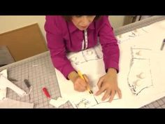 Constructing a Classical Ballet Tutu (Part 2: Correcting the Muslin and Cutting) - YouTube