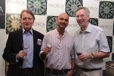 Wine Legend Steven Spurrier at Vinoteca by Sula