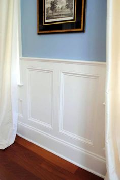 10 Unbelievable Tricks: Picture Frame Wainscoting Board And Batten wainscoting stairwell light fixtures.Wainscoting Hallway Bedrooms wainscoting island home.Wainscoting Board And Batten Basements. Wainscoting Kitchen, Painted Wainscoting, Dining Room Wainscoting, Wainscoting Panels, Wainscoting Ideas, Black Wainscoting, Wainscoting Nursery, Rustic Wainscoting, Stairway Wainscoting