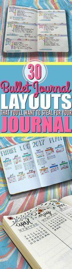 Express your creativity and keep your life organized by using some of these AMAZING bullet journal ideas in your bullet journal! Pin now, thank me later!