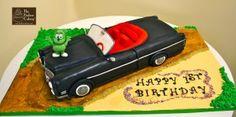 Gummibar 3D Cadillac Car Birthday Cake