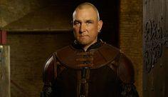 Arrow's Vinnie Jones, He Strikes A Gleeful Pose, Like Nobody Knows As He Stars In Galavant!