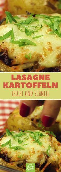 Die wahrscheinlich deutscheste Lasagne überhaupt.