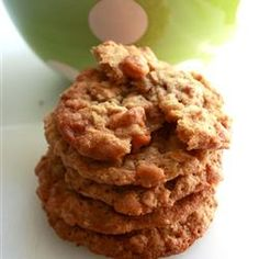 Oatmeal butterscotch cookies.  My FAVORITE!!