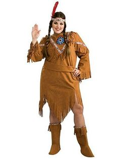 Indian Girl Adult Plus Costume