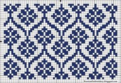 Nice to be done in double knitting Tapestry Crochet Patterns, Fair Isle Knitting Patterns, Fair Isle Pattern, Knitting Charts, Weaving Patterns, Knitting Stitches, Knitting Designs, Knitting Projects, Stitch Patterns