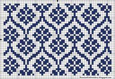 Tutoriales y DIYs: Patrón dos agujas - Dos colores