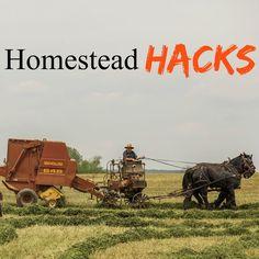 Farm hacks: ideas to make life on the homestead a little easier