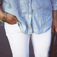 need a chambray top