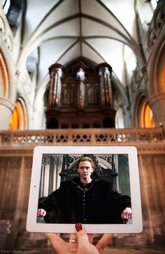 """fangirlquest: """" Show: The Hollow Crown Location: Gloucester Cathedral, Gloucester, UK See more of our Sceneframing photos here. """""""