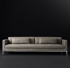 Italia Shelter Arm Leather Sofa- maybe 2 of these, a chaise and 2 chairs as the first seating group? Furniture Vanity, Sofa Furniture, Modern Leather Sofa, Leather Chairs, L Shaped Sofa, Rug Sale, Home Hardware, Living Room Sofa, Contemporary Interior