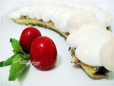 Бананы с меренгой (десерт)