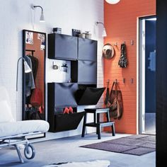 Accessoires à la rescousse - Hall d'entrée - Inspirations - Décoration et rénovation - Pratico Pratiques