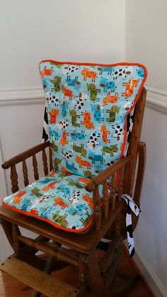 Custom Laminate High Chair Cushions High Chair By MayberryandMain