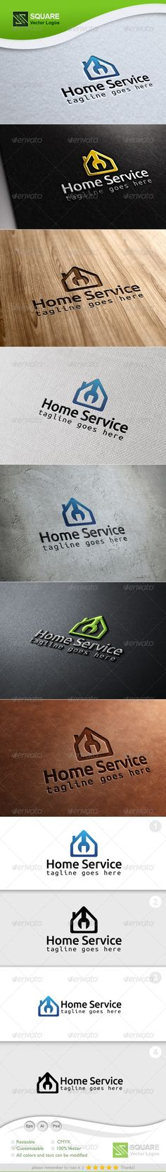 Home, Wrench Vector Logo Template by svlogos File Description This is custom logo template. Illustrator (AI), Photoshop (PSD), Vector (EPS) logo files included in this downloa