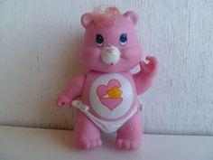 Vintage Care Bears Poseable Baby Hugs Bear PVC via Etsy