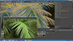 Tip 02: Jungle Scattering in Cinema 4D and Octane (Timelapse)
