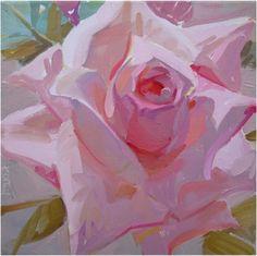 rose, flower, floral, pastel, valentines day by Karen ONeil