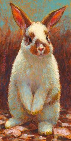 DPW Fine Art Friendly Auctions - Buster by Rita Kirkman rabbit painting fine art DPW Original Fine Art Auction - Buster - © Rita Kirkman Pastel Drawing, Pastel Art, Painting & Drawing, Bunny Painting, Lapin Art, Rabbit Art, Bunny Art, Art Et Illustration, Fine Art Auctions