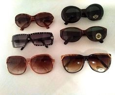 Vintage Lot of assorted Ladies Sunglasses Remarkable old school styles NWT #assortedstyles #Casual