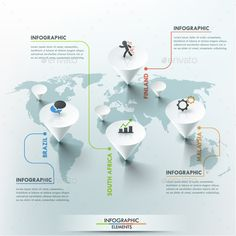 Modern Infographic #Options #Template - #Infographics Download here: https://graphicriver.net/item/modern-infographic-options-template/11563261?ref=alena994