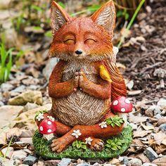 Zen Fox Statue
