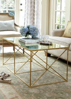 South Shore Decorating Blog Design Must Have The Gold Coffee Table