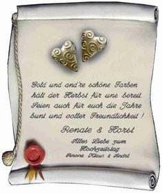 Hochzeit Blog Goldene Hochzeit Lustige Gedichte