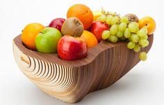 Fruitschaal '128' | hout