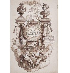 Rex Whistler, little augury