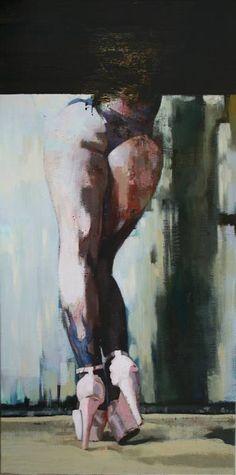 "Saatchi Art Artist Patrick Delaunay; Painting, ""ANGELINA"" #art"