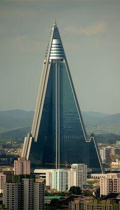 Hotel Ryugyong Pionyang, Corea del Norte