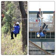 Discounts on zipling!!!!!!!!!  90-Minute Zipline Tour for One or Dare Ya! Ride for Two at Daredevil Ziplines  $20(regularly$40) (Up to 54% Off). Use link below:  http://touch.groupon.com/deals/daredevil-ziplines-4