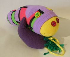Creatures from the Sock Drawer. $28.00, via Etsy.