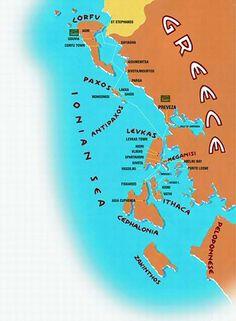 Ruta por las siete islas griegas