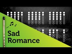 Sad Romance on Tin Whistle D + tabs tutorial - YouTube