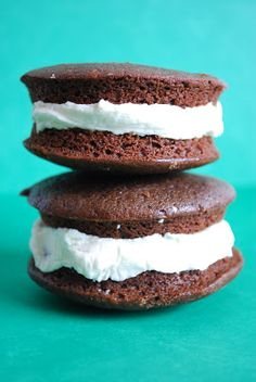 Bake.Frost.Repeat: Guinness and Bailey's Irish Cream Whoopie Pies