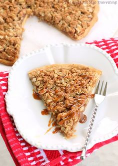 Apple Crisp Pizza | The Girl Who Ate Everything